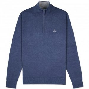 gant-cotton-half-zip-jumper